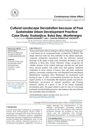 Calaméo - Cultural Landscape Devastation because of Poor