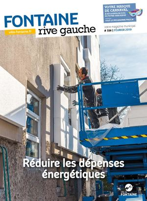 Fontaine Rive Gauche 336 Fevrier 2019