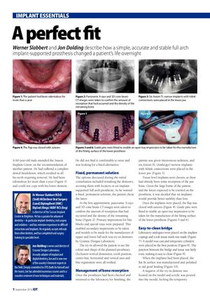 A perfect fit-Dr Dolding-IDT September 2018
