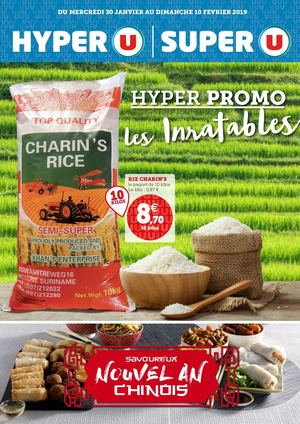 Catalogue du 30/01 au 10/02 :  Hyper promo, les Inratables