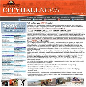 City Hall News - Jan. 31, 2019