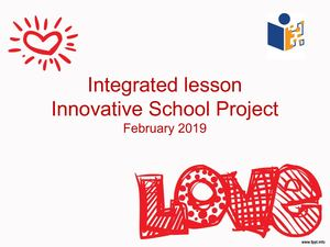 Integrated Lesson on LOVE