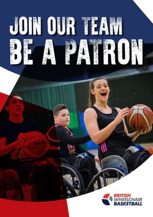 Wheelchair Basketball Patron Brochure