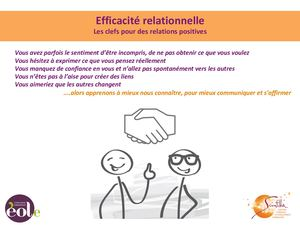 Efficacité Rel Relations Positives