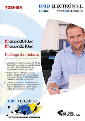 e-Studio 2010AC/2510AC COLOR A3/A4 multifunción