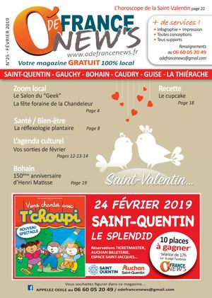 O'de France New's n°25 février 2019