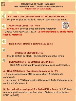Catalogue Vo Co Truyen Hoa Zen Tarifs 2019