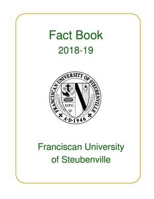 2018-2019 Fact Book Revised