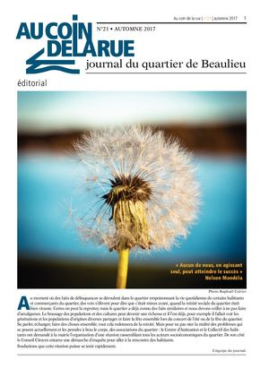 JOURNAL DU QUARTIER DE BEAULIEU N°21