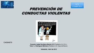 Prevencion De Conductas