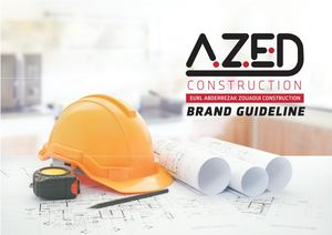 Azed Construction Brand Guideline Print