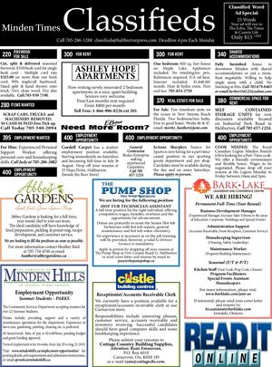 Classifieds February 7, 2019