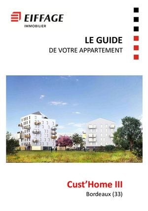 Guide Appartement Cust'home Iii