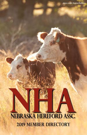 Nebraska Hereford Directory - 2019