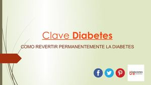 Como Curar Permanentemente La Diabetes