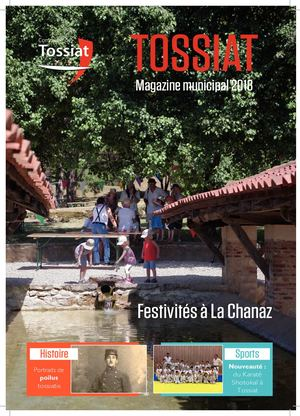 Magazine Municipal annuel Tossiat 2018