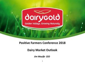 PFC18 Jim Woulfe Dairy Market Outlook