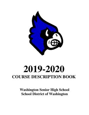 Whs Course Description Book 2019 20