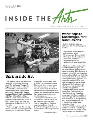 March/April 2019 Arts Calendar