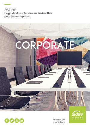 SIDEV Catalogue Corporate 2019
