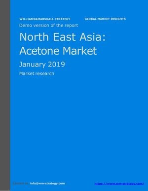 WMStrategy Demo North East Asia Acetone Market January 2019