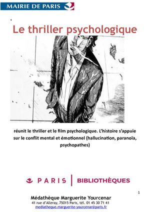 Biblio Thriller Psychologique La Bonne Version