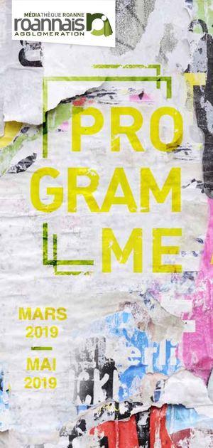 e3e991c8415 Programme Mediathèque Roannais Agglomération Roanne