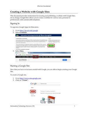 Introductionto Google Sites