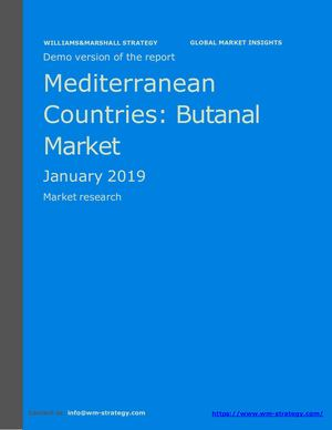 WMStrategy Demo Mediterranean Countries Butanal Market January 2019