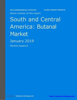 WMStrategy Demo South And Central America Butanal Market January 2019