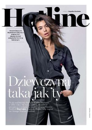 Dua Lipa In Glamour Poland, April 2018