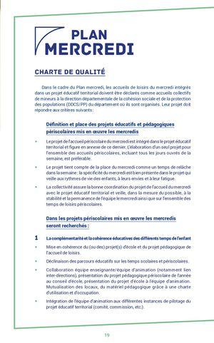 Charte Plan Mercredi