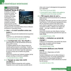 Programme Mediatheque Montaigne