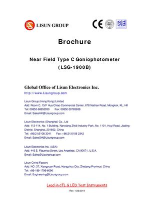 Near Field Type C Goniophotometer