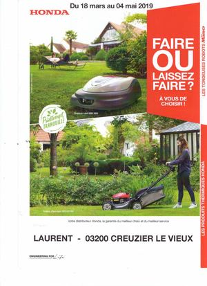 Ets Laurent Catalogue Honda Promos Printemps 2019