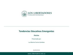 Tendencias Educativas Emergentes U 3 (2)
