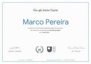 Digital Marketing Google Certification