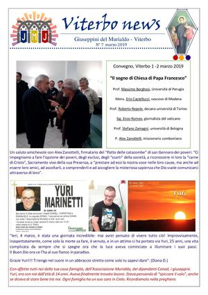 Viterbo News7 Mar. 19
