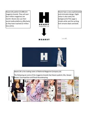 Research into Hearst UK