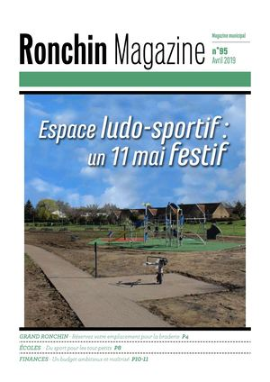 Ronchin Magazine n°95 - Avril 2019