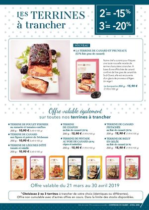 Catalogue Avril 2019 Les Terrines à Trancher