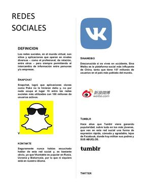 Redes Sociles