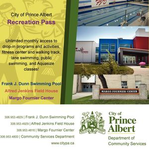 City Of Prince Albert Rec Pass