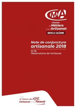 Note De Conjoncture 2018