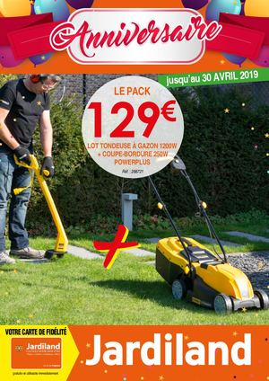Catalogue Jardiland Avril 2019