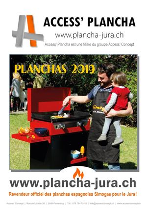 Catalogue Plancha 2019