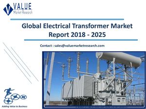 Electrical Transformer Market Size, Industry Analysis Report 2018-2025 Globally