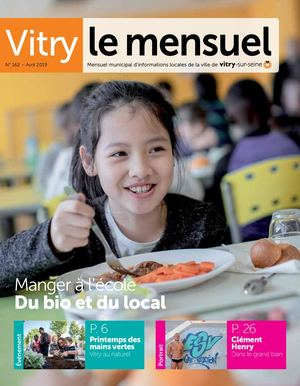 Vitry le Mensuel n°162 - avril 2019