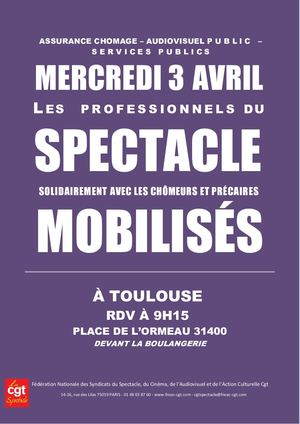 3 AVRIL TOULOUSE