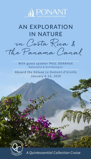 QC 2020 - An Exploration in Nature in Costa Rica & the Panama Canal